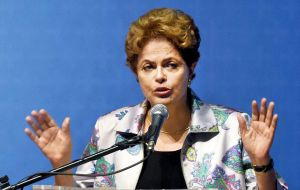 Rousseff wants to force a vote during the summer months which would strongly limit the pro impeachment campaign