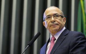 Aviation Minister Eliseu Padilha, an ally of Temer and part of the fractious party that is Rousseff's main coalition partner, submitted his resignation