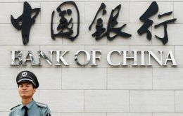 Bank of China is appealing the civil contempt order and fine of $50,000 a day starting on 8 December.