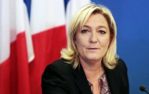 "Marine Le Pen, a lawyer by training, welcomed the ""magnificent result"", saying it proved the FN was ""without contest the first party of France""."