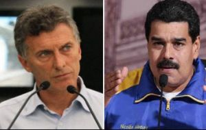 Malcorra did not rule out an eventual meeting between president-elect Mauricio Macri and Venezuela's president Nicolás Maduro.