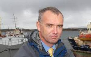 Director of Natural Resources John Barton working to improve  conditions for fishermen