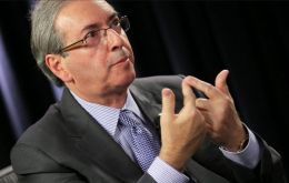 The architect of the impeachment drive, house speaker Eduardo Cunha, has been charged with taking as much as $40 million in bribes.