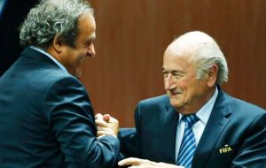 Blatter made a $2 million illegal payment to Platini for his work as an advisor between 1998 and 2002. FIFA's ethics committee is expected to rule on the case