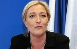 Le Pen had been riding high after extremist attacks and an unprecedented wave of migration, and the party came out on top in the first round a week ago.