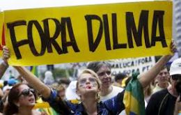 The good news for Rousseff was that Sunday's turnout at the rallies was less than expected.
