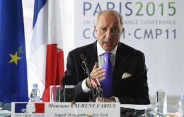 """It's rare in life to be able to move things forward at the planet level,"" Fabius said, visibly moved after coming out of the plenary room."