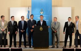 President Macri attended the signing ceremony. His administration plans to triple gas production by the end of 2016