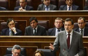Rajoy's party stands to win the elections but may not have enough for a majority in parliament