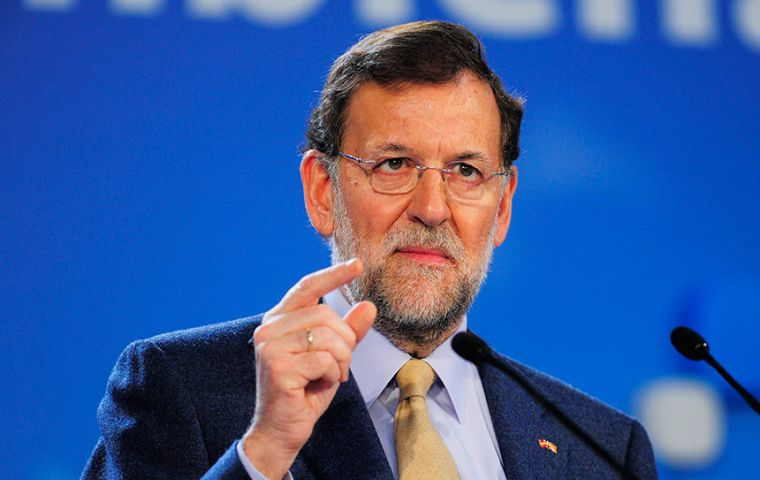 """I don't know who proposed that; I certainly didn't,"" Rajoy said on the last day of the campaign. ""No one in the PP has made a proposal for such a coalition."""