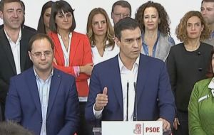 """Pedro Sánchez' Socialist party got its worst-ever election result since democracy [returned] and the Popular Party got its worst result since 1989,"" said Iglesias"