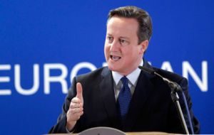 "PM Cameron said ""unprecedented"" levels of immigration were ""undermining support for the European Union"" in the UK."