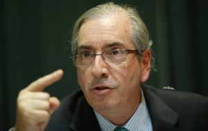The speaker of Brazil's Chamber of Deputies Eduardo Cunha said Monday that the impeachment process will take place in 2016