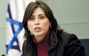 """Israel will leave the level of diplomatic relations with Brazil at the secondary level if the appointment of Dani Dayan is not confirmed,"" warned Tzipi Hotovely"