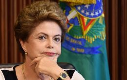 "In a leader for the influential Folha de S. Paulo newspaper, Rousseff wrote that the economy for 2016 will be ""better than current predictions."""