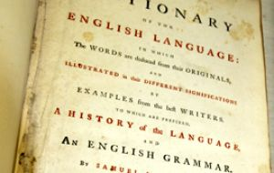 The first major dictionary compiled by Samuel Johnson drew on Shakespeare more than any other writer.