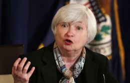 Fed chairwoman Janet Yellen said she was confident inflation would reach the 2% target and that global factors would not derail the US economy.