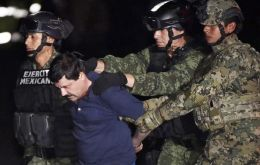 Mexico's marines caught Guzman in an operation at about 4:30 a.m. in the coastal city of Los Mochis in Sinaloa state