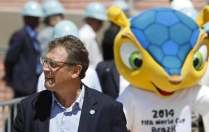 Valcke allegedly was involved in a scheme to sell Brazil 2014 tournament tickets at three times face value and take a cut of the profits.
