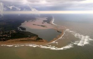 The contaminated water and mud traveled down the Doce river into the Atlantic Ocean, killing thousands of animals and devastating swaths of tropical rainforest.
