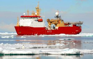 HMS Protector is the first Royal Navy or UK Government, vessel to have visited the region in 80 years or to have travelled below 77 degrees latitude.