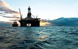 News comes a week after the confirmation by another UK firm, Premier Oil, of an oil find at the Isobel Deep well off the Falklands.