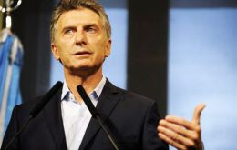 """We will keep our claim over the islands which are Argentine, but I will try to start a new era in ties with Britain,"" Macri said in a joint interview with leasing dailies"