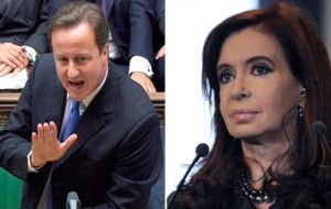 Cristina Fernandez and David Cameron clashed very publicly over the Falkland Islands, which are claimed by Argentina as the Malvinas Islands.