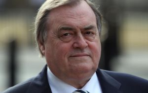 Former Labour deputy PM Lord Prescott said the interview was a 'disgrace' and accused Marr of pandering to the wishes of right wing newspapers