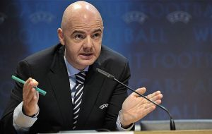 Infantino is expecting more good news when he chairs a meeting of the UEFA ExCo and meets all European national associations on Friday