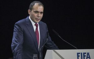 Prince Ali's campaign was given a lift when the Iraqi Football Association got behind his bid following meetings in Amman