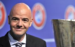 Infantino has a plan to expand World Cup to 40 teams, allowing several countries to stage matches ensuring it is not limited to just a few wealthy potential hosts.