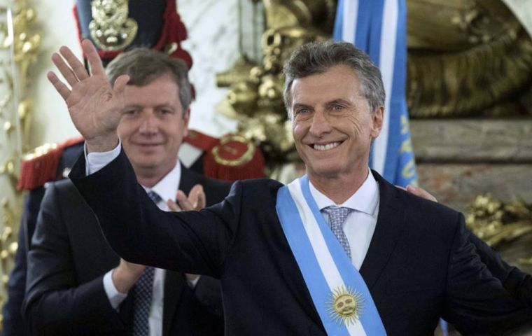 Macri had a popularity rating of 64% in one poll by the Poliarquia consultancy published on Friday and 67% in the latest survey from pollster Isonomia.