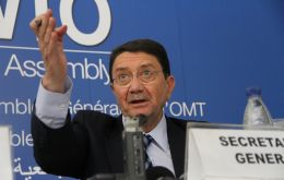 """The robust performance of the sector is contributing to economic growth and job creation in many parts of the world"", said WTO Secretary-General, Taleb Rifai."