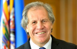Uruguay's former foreign minister Luis Almagro, under president Jose Mujica is the current OAS secretary general
