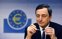 """Confidence comes from every party fulfilling its mandate. And that's what the ECB will do,"" Draghi said."