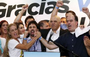 But now Venezuela's representation in Parlasur belongs exclusively to the anti-Chavez majority