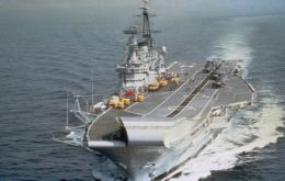 She is the last of the Centaur-class carriers and is the longest-serving aircraft carrier in the world.