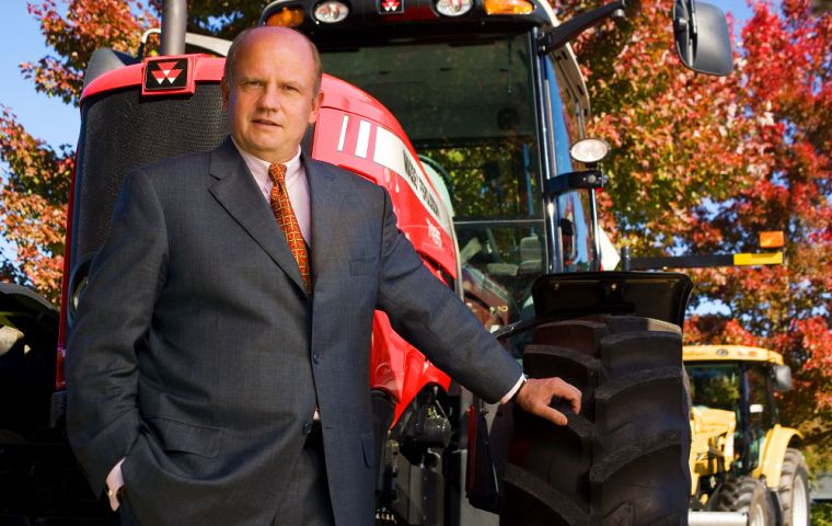 "Martin Richenhagen, chairman and CEO of Agco, manufacturer of Fendt, Massey Ferguson and Valtra machinery, claimed ""politicians right now don't listen"""