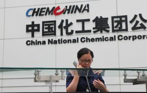The deal could transform ChemChina into the world's largest supplier of crop-protection products.