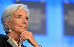 Named to head the IMF in July 2011, Lagarde officially entered her nomination for a second term at the World Economic Forum in Davos, in January this year.