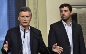 """For more than 10 years, they took resources out from San Juan province to give them to the Nation (central government)"" underlined Macri"