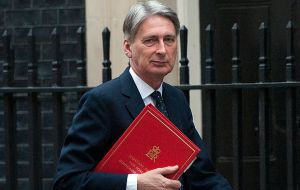 "A MoD source said it's important to show solidarity with British service personnel stationed at MPA, and ""Hammond does not have a problem with the visit""."
