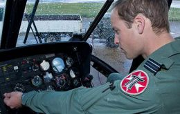 Among those paying tribute to SAR at RAF Valley in Anglesey, were the Royal couple who were based in Wales for three years while The Duke of Cambridge served as a pilot and aircraft Captain