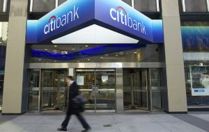 Citi's consumer business accounts for about half of the company and is heavily weighted towards US credit cards.