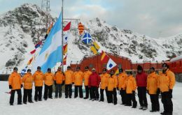 Since 1904 Argentina has had a standing uninterrupted presence in Antarctica and in 1959 was one of the original signatories of the Antarctic Treaty, said the ministry