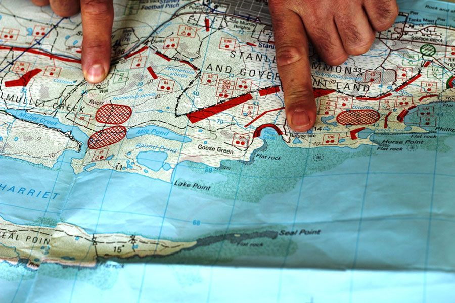 Falklands Demining Project Fourth Phase Draws To A Close MercoPress - Us minefield map
