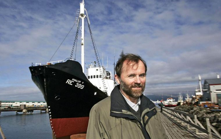 Kristján Loftsson, CEO of whaling company Hvalur, made the announcement on arguments that it has encountered difficulties getting the whale meat to market.