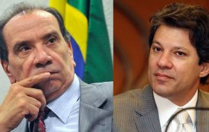 The investigation also involves São Paulo Mayor Fernando Haddad from Rousseff's party and Senator Aloysio Nunes of the opposition PSDB party.
