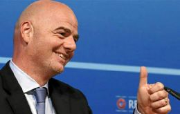 Infantino led all candidates with 88 votes after the one round of voting causing a look of shock and surprise to overcome Sheikh Salman who garnered 85.